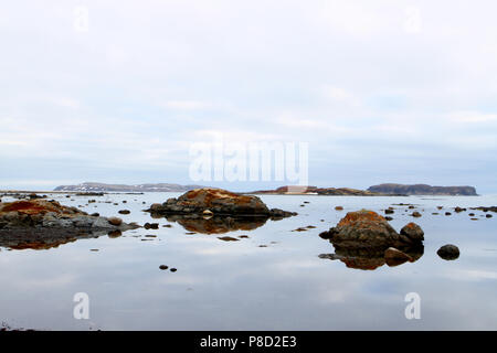 Travelogue,  Travel Newfoundland, Canada,  Landscapes and scenic,  Canadian Province,  'The Rock' - Stock Photo