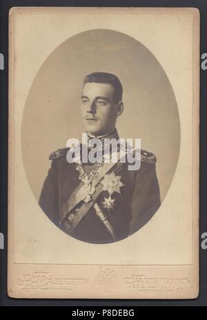 Grand Duke Michael Alexandrovich of Russia (1878-1918). Museum: PRIVATE COLLECTION. - Stock Photo