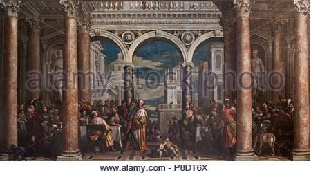 The Feast in the House of Levi Stock Photo: 186162180 - Alamy