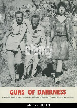 Guns of Darkness (1962) David Niven, Leslie Caron,     Date: 1962 - Stock Photo