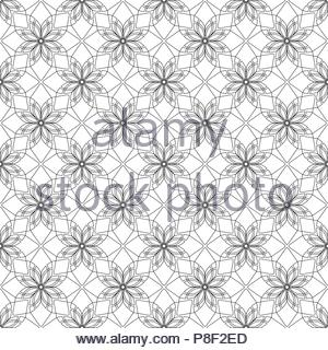 Simular texture with linear geometric ornaments - Stock Photo