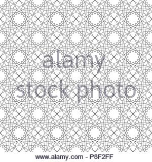 Simular texture with linear geometric ornaments. - Stock Photo