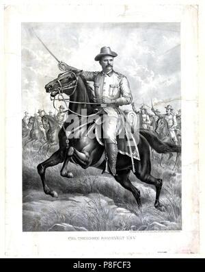 Col. Theodore Roosevelt U.S.V. - Stock Photo