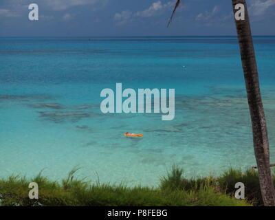 Achilles Bay Beach near Fort St. Catherine, Bermuda - Stock Photo