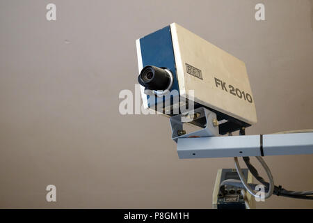 Berlin, Germany, surveillance camera in the Stasi Museum Berlin - Stock Photo