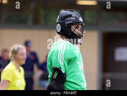 Gruenwald Near Munich, Germany. 11th July, 2018. Maria MUTIO (Argentina), .womans hockey, real Four Nations Cup 2018.Germans vs Argentina, leisure park, Gruenwald near Munich, .the teams of New Zealand, the Netherlands, Argentina and Germany take part in this prepareation competition for the world championship. Credit: Wolfgang Fehrmann/ZUMA Wire/Alamy Live News - Stock Photo