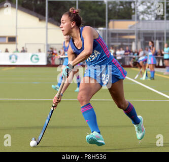 Gruenwald Near Munich, Germany. 11th July, 2018. Julieta JANKUNAS (Argentina), .womans hockey, real Four Nations Cup 2018.Germany vs Argentina, leisure park, Gruenwald near Munich, .the teams of New Zealand, the Netherlands, Argentina and Germany take part in this prepareation competition for the world championship. Credit: Wolfgang Fehrmann/ZUMA Wire/Alamy Live News - Stock Photo