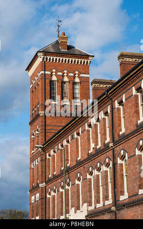 ... Old carpet making factory and warehouses, Kidderminster, Worcestershire, England, Europe - Stock