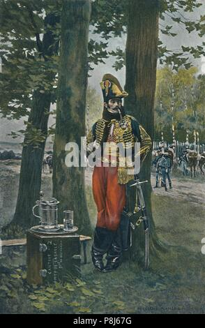 'Antoine Charles Louis Collinet, Count of Lasalle', 1896. Artist: Unknown. - Stock Photo