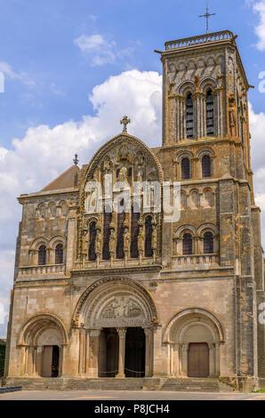 Vezelay basiica - Stock Photo