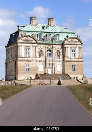 The Hermitage, a royal hunting lodge in Klampenborg of Denmark - Stock Photo