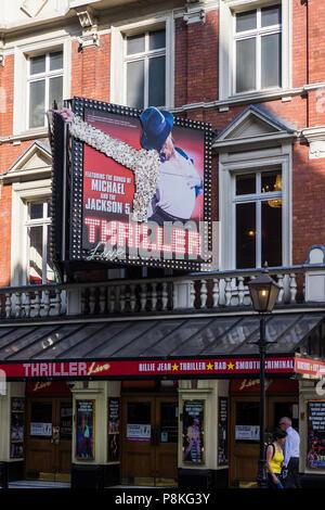 Thriller Live, Lyric Theatre, London, England, U.K. - Stock Photo