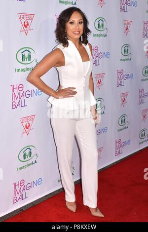 Hollywood, California, USA. 4th June, 2015. CHERYL BURKE attends the 2015 Imagine Ball at the House of Blues. Credit: Billy Bennight/ZUMA Wire/Alamy Live News - Stock Photo