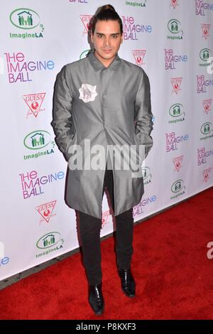 Hollywood, California, USA. 4th June, 2015. MARCKUS MOLINARI attends the 2015 Imagine Ball at the House of Blues. Credit: Billy Bennight/ZUMA Wire/Alamy Live News - Stock Photo