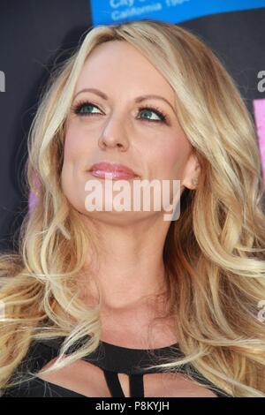 Hollywood, California, USA. 23rd May, 2018. Stormy Daniels Receives City Proclamation and Key To The City Of West Hollywood Chi Chi LaRue's, West Hollywood, California. Credit: Clinton Wallace/Globe Photos/ZUMA Wire/Alamy Live News - Stock Photo