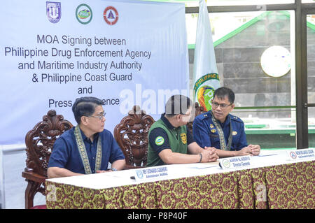 Quezon City Philippines 11th July 2018 Moa Signing The