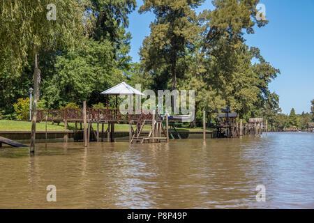 Tigre Delta - Tigre, Buenos Aires Province, Argentina - Stock Photo