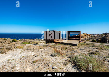 In Cap De Creus A Club Med Was Deconstructed With The Idea Of Recovering The Landscape Of This Part Of The Costa Brava In Its Place Small Interventions Of Landscape Architecture Were