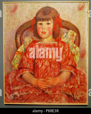 .   261 Dorignac, portrait de Georgette, 1906 - Stock Photo