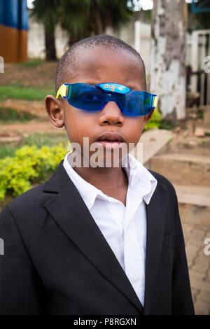 Rwanda,Kigali,portrait - Stock Photo