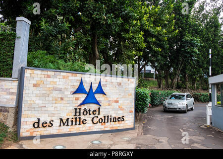 Rwanda,Kigali,Hotel des Mille Collines - Stock Photo