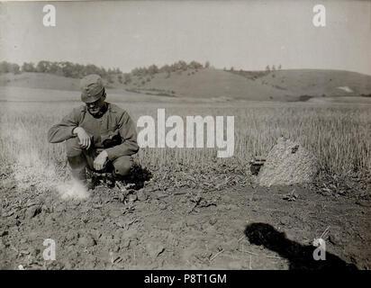 23 8cm Granate brennende Zündschnur (BildID 15529332) - Stock Photo