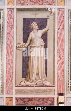 Scrovegni Chapel Cappella degli Scrovegni in Padua, Italy - Stock Photo