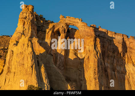 Grosvenor Arch in Bryce Canyon National Park in Utah - Stock Photo