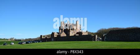 Castle of Mey, Caithness, Scotland - Stock Photo