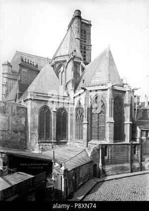 268 Eglise Saint-Gervais-Saint-Protais - Ensemble est - Paris 04 - Médiathèque de l'architecture et du patrimoine - APMH00016591 - Stock Photo