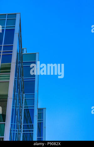 Abstract angular building in Provo Utah - Stock Photo