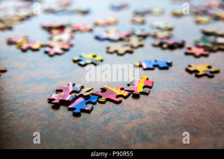 WA14612-00...WASHINGTON - Puzzle - Stock Photo