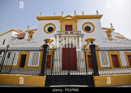 Plaza de Toros de la Maestranza, Seville, Spain (Sevilla - España) - Stock Photo