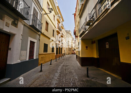 Barrio Santa Cruz, Seville, Spain (Sevilla - España) - Stock Photo