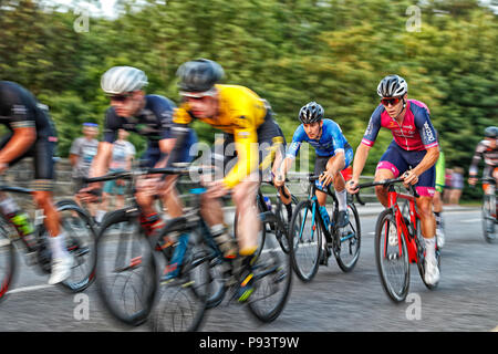 Otley Cycle Race 2018 - Stock Photo