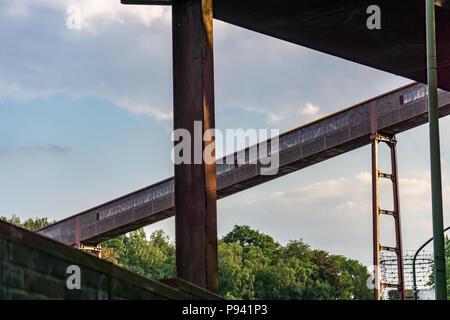 Zollverein sky summer - Stock Photo