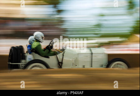 Goodwood, West Sussex, UK, 14th July 2018. Scenes from the Goodwood Festival of Speed. © Tony Watson/Alamy Live News