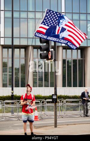 London, U.K. - 14 July 2018: - Stock Photo