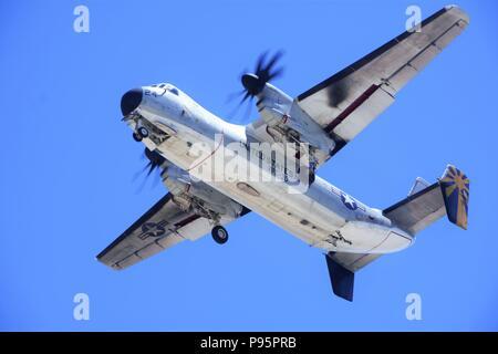 Greyhound Transport Plane - Stock Photo