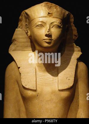 egyptian pharaoh bust - Stock Photo