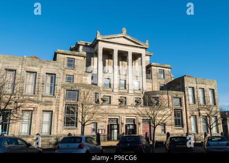 Younger Hall, graduation and concert hall University of St Andrews, St Andrews, Scotland, UK - Stock Photo