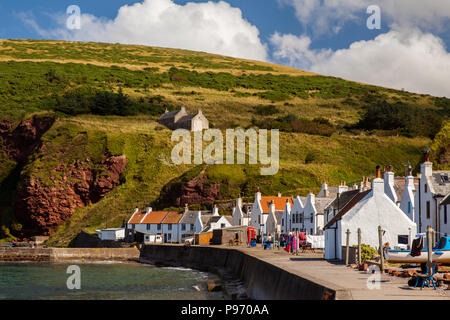 Fischerort Pennan - Stock Photo