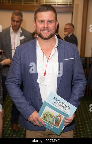 Guests attend the Martin Roberts Foundation Event  Featuring: Kai Owen Where: London, United Kingdom When: 14 Jun 2018 Credit: Phil Lewis/WENN.com - Stock Photo