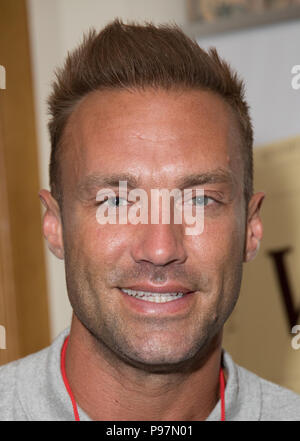 Guests attend the Martin Roberts Foundation Event  Featuring: Calum Best Where: London, United Kingdom When: 14 Jun 2018 Credit: Phil Lewis/WENN.com - Stock Photo
