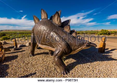 Visitors Center, Dinosaur National Monument, Utah USA. - Stock Photo