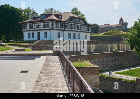 Belgrade, Serbia - May 03, 2018: Institute for Protection of Cultural Monuments of Belgrade - Stock Photo