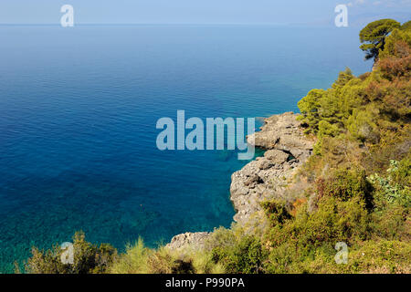 italy, basilicata, maratea, acquafredda - Stock Photo