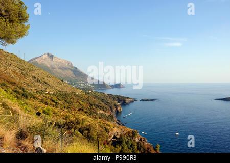 italy, basilicata, maratea, coast - Stock Photo
