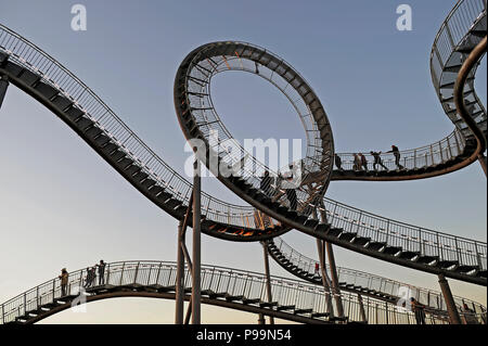Germany, Landmark Angerpark in Duisburg Stock Photo