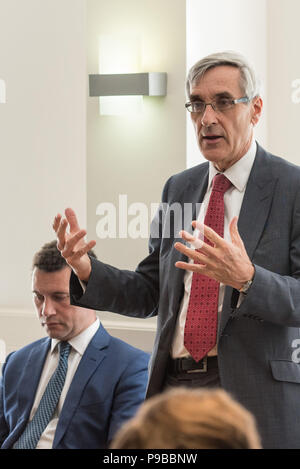 55 Tufton Street, London, UK. 23rd May 2016. 55 Tufton Street, London, SW1P 3QL. Steven Woolfe MEP, UKIP's financial affairs spokesman, together with  - Stock Photo